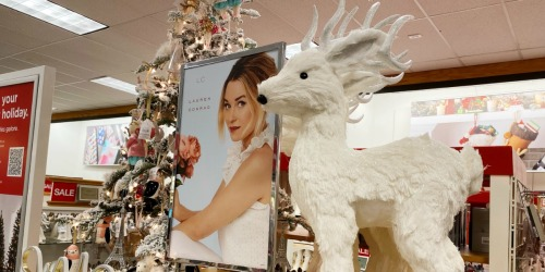 Up to 70% Off LC Lauren Conrad Reindeer Holiday Decor + Free Shipping for Kohl's Cardholders