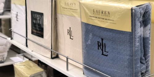 Ralph Lauren 100% Cotton Blankets as Low as $18.99 at Macy's (Regularly $90)