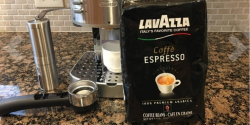 Lavazza Whole Bean Coffee 2.2-Pound Bags as Low as $10.21 Shipped at Amazon