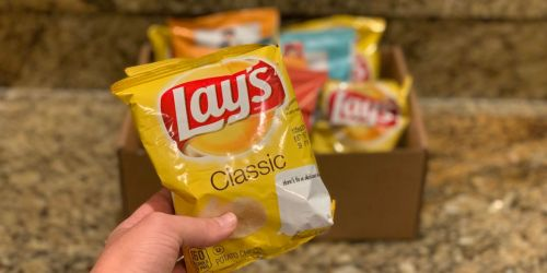 Lay's Potato Chips Variety Pack 40-Count Only $8.39 Shipped (Just 21¢ Each)