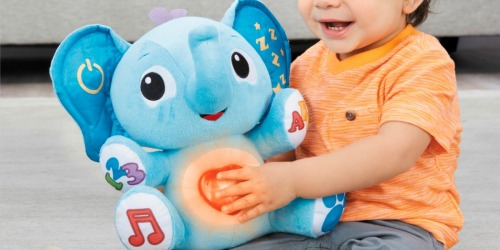 Little Tikes My Buddy Triumphant Interactive Plush Only $9.49 Shipped (Regularly $20) + More