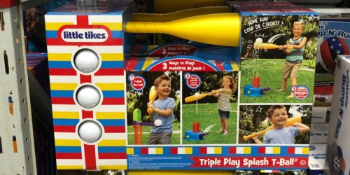 Little Tikes 3-in-1 Triple Splash T-Ball Set Only $13.99 (Regularly $30)