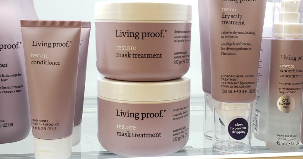 Living Proof Mask Treatment on shelf at ULTA