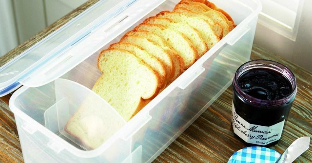 Lock & Lock Bread Container