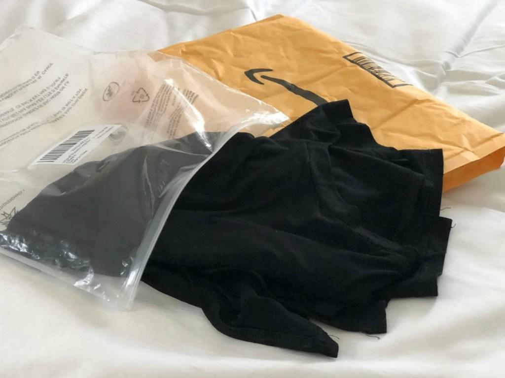 black long sleeve shirt from Amazon