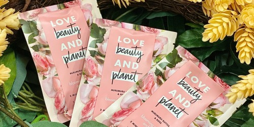 Love Beauty & Planet Masques Only 82¢ Each After Target Gift Card