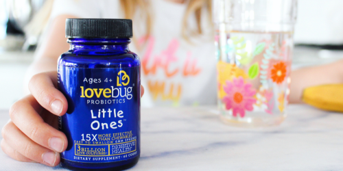40% Off LoveBug's Little Ones Probiotics + Free Shipping at Amazon | For Kids Ages 4+