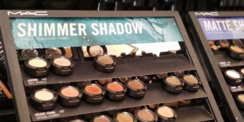 50% Off MAC Eye Shadow Singles, Stila & Buxom Lip Products & More at Macy's + Free Shipping