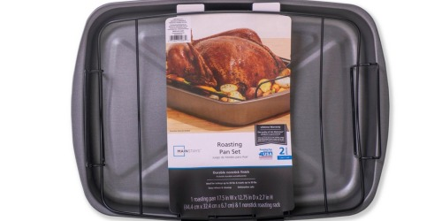 Mainstays 2-Piece Roaster w/ Rack Only $6 at Walmart (Regularly $13)