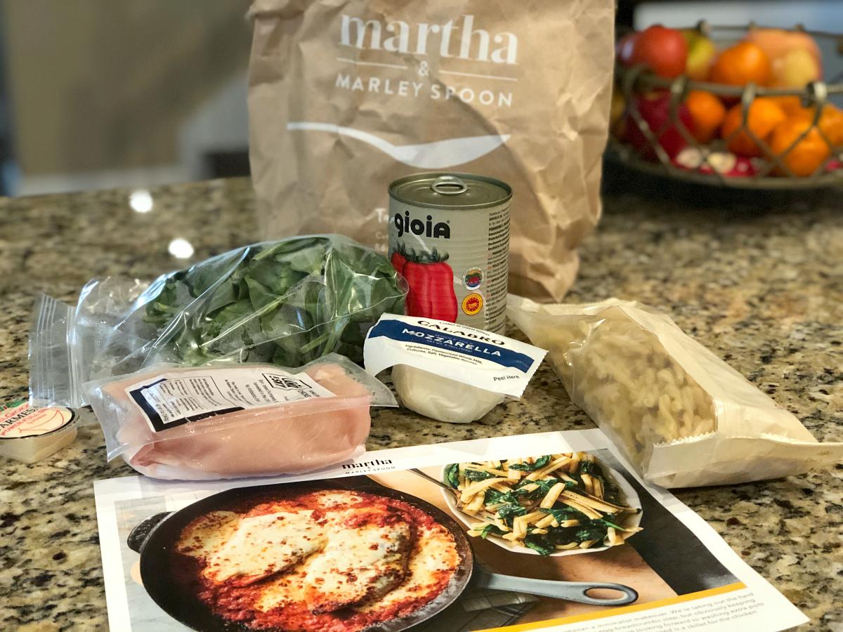Martha Marley Spoon ingredients