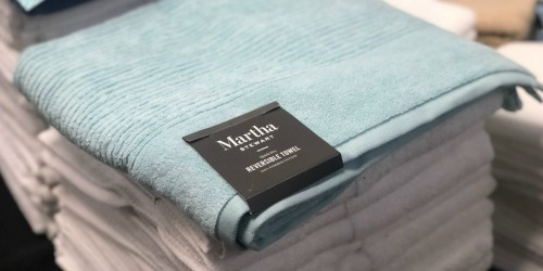 Up to 80% Off Martha Stewart Quick-Dry Bath Towels at Macy's
