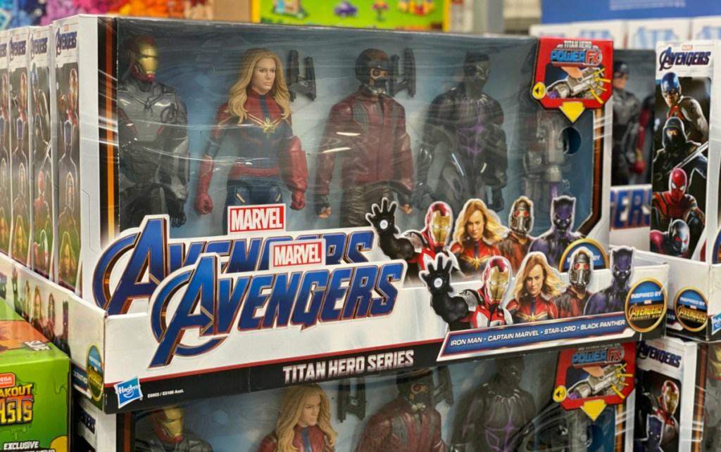 Marvel Avengers Titan Hero Series Action Figures 4-count