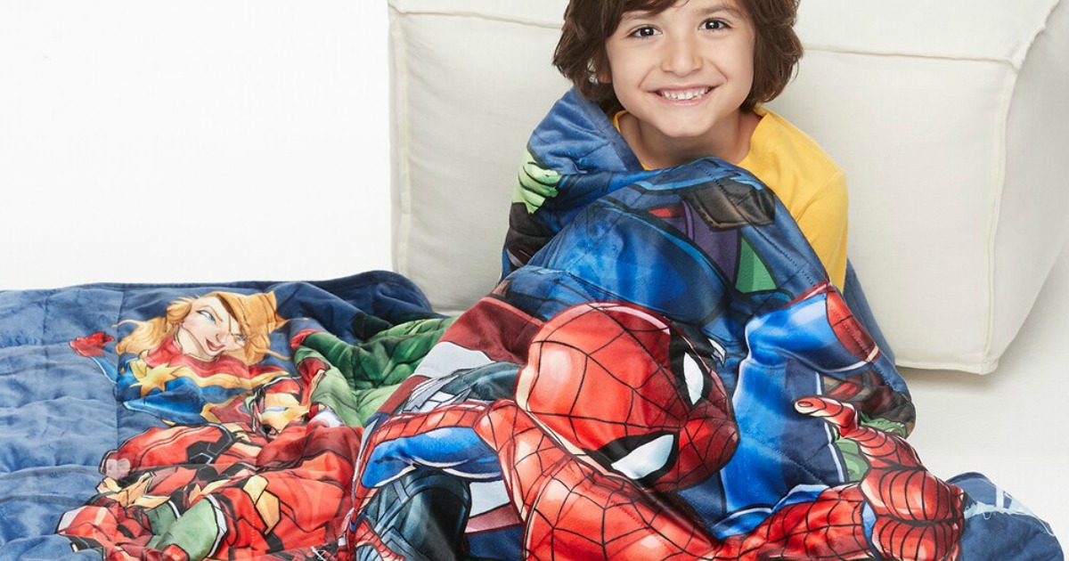Marvel Kids Weighted Blanket
