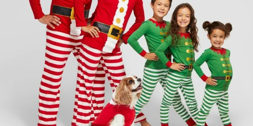 Matching Family Christmas Pajamas Now at Target