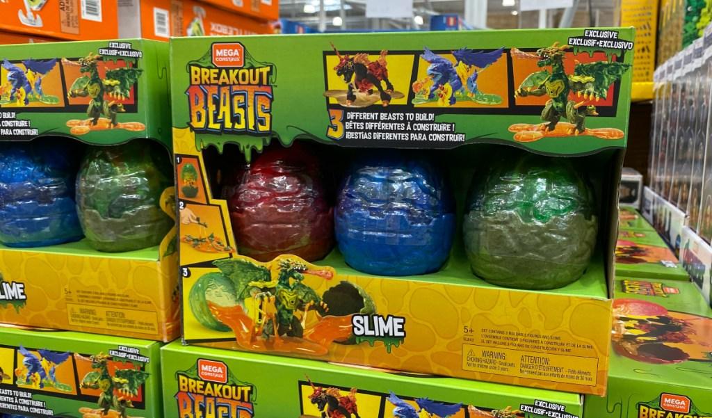Mattel Mega Construx Breakout Beasts