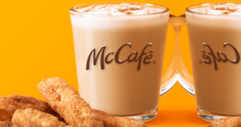 McCafe Cinnamon Cookie Latte