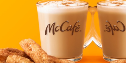 McDonald's Donut Sticks & Cinnamon Cookie Latte Coming Soon for Holiday Season