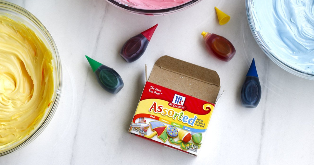 McCormick Assorted Food Color 4-Pack Only $2 Shipped on ...