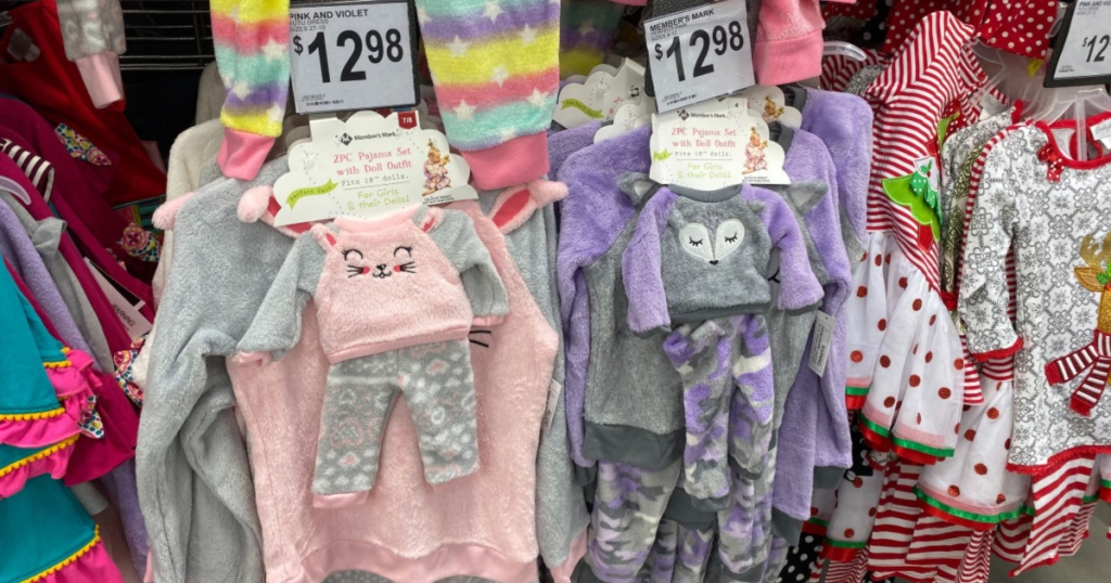members mark matching pj sets at sams club