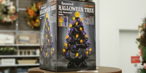 This Popular Ceramic Halloween Tree is Back in Stock + How to Score 25% Off