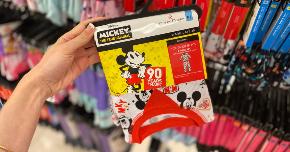 Mickey Mouse Cuddl Duds