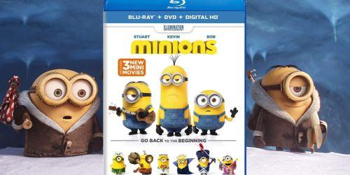 Minions Blu-ray + DVD + Digital Only $3.99 (Regularly $15)