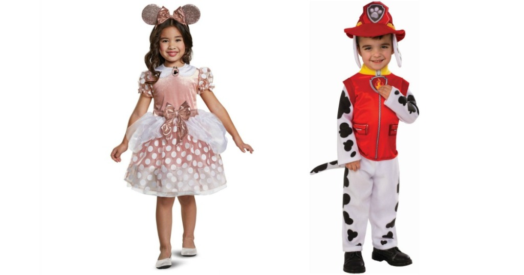 Minnie Rose and Paw Patrol Costumes
