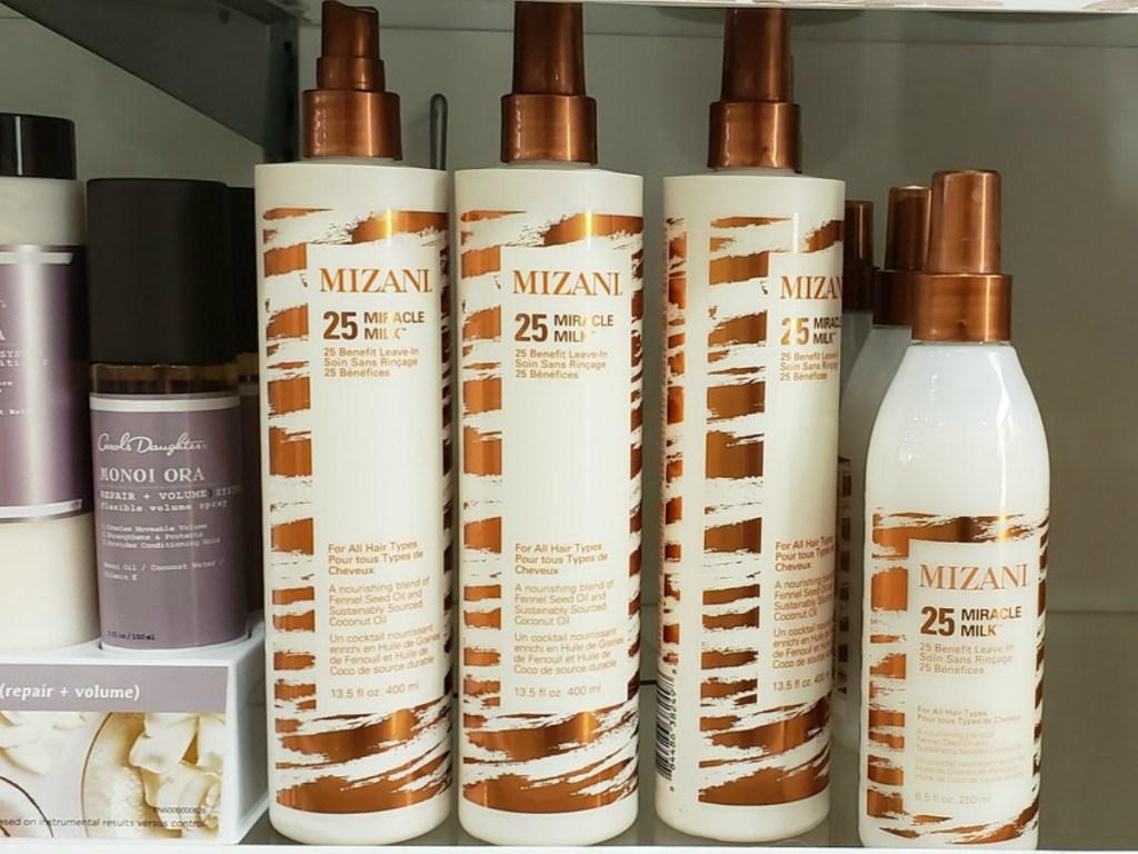 Mizani Miracle Milk on shelf at ULTA