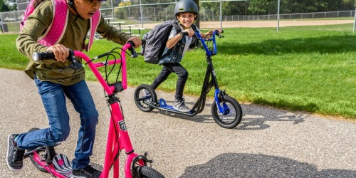 Mongoose Expo Scooters w/ 12″ Wheels Only $79 Shipped