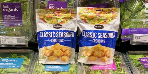 Mrs. Cubbisons Croutons Just 67¢ Per Bag After Cash Back at Target