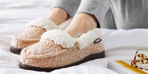 Muk Luks Anais Slippers Only $12.99 at Zulily (Regularly $32)