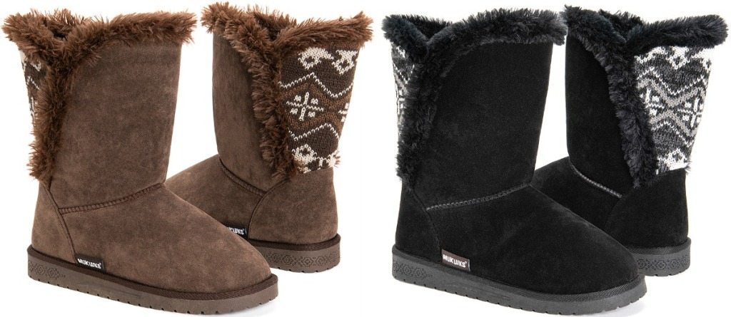 Muk Luks Women's Carey Boots in two colors