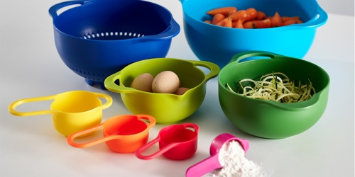 8-Piece Nesting Food Prep Set Only $14.79 at Zulily (Regularly $35) | Strainer, Mixing Bowls & More