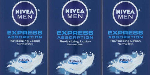NIVEA Men 3-in-1 Revitalizing Lotion 3-Pack Only $11 Shipped at Amazon