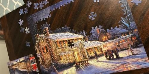 Thomas Kinkade Christmas Puzzles Only $6.79 at Kohl's | National Lampoon, A Christmas Story & Disney
