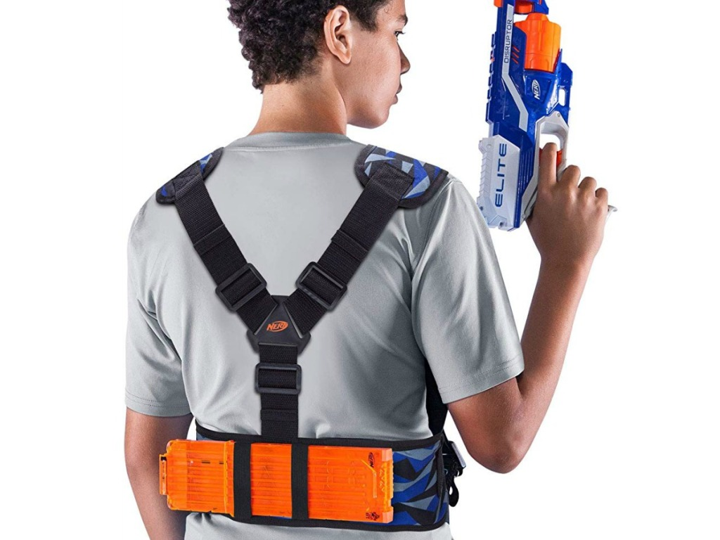 Nerf Utility Vest from back