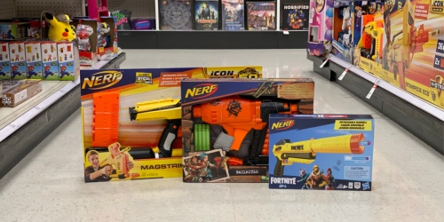 Up to 40% Off NERF Toys at Target (In-Store & Online) | Fortnite, Zombie Strike & More
