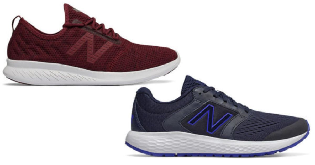 two new balance shoes
