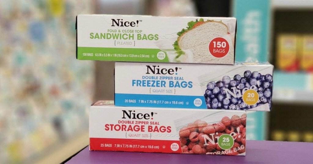 Nice Storage Bags