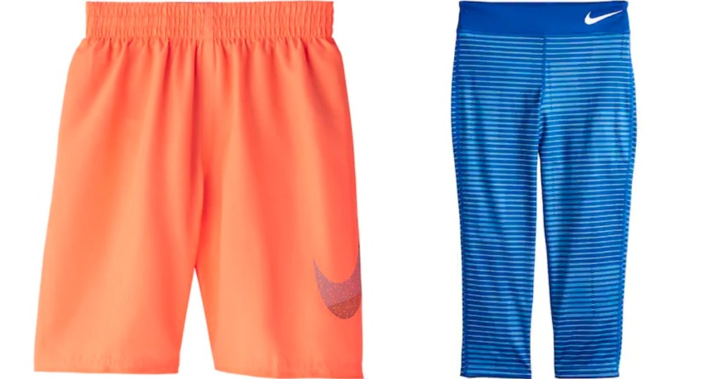 Nike Boys Shorts and Girls Capris