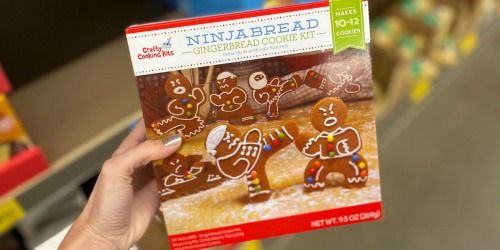 Ninja & Ugly Sweater Cookie Kits + More ALDI Holiday Baking Finds