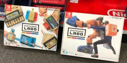 Nintendo LABO Kits Only $29.99 at Best Buy (Regularly $70)