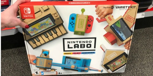 Nintendo Switch LABO Kits Possibly $30 at Walmart (Regularly $69)