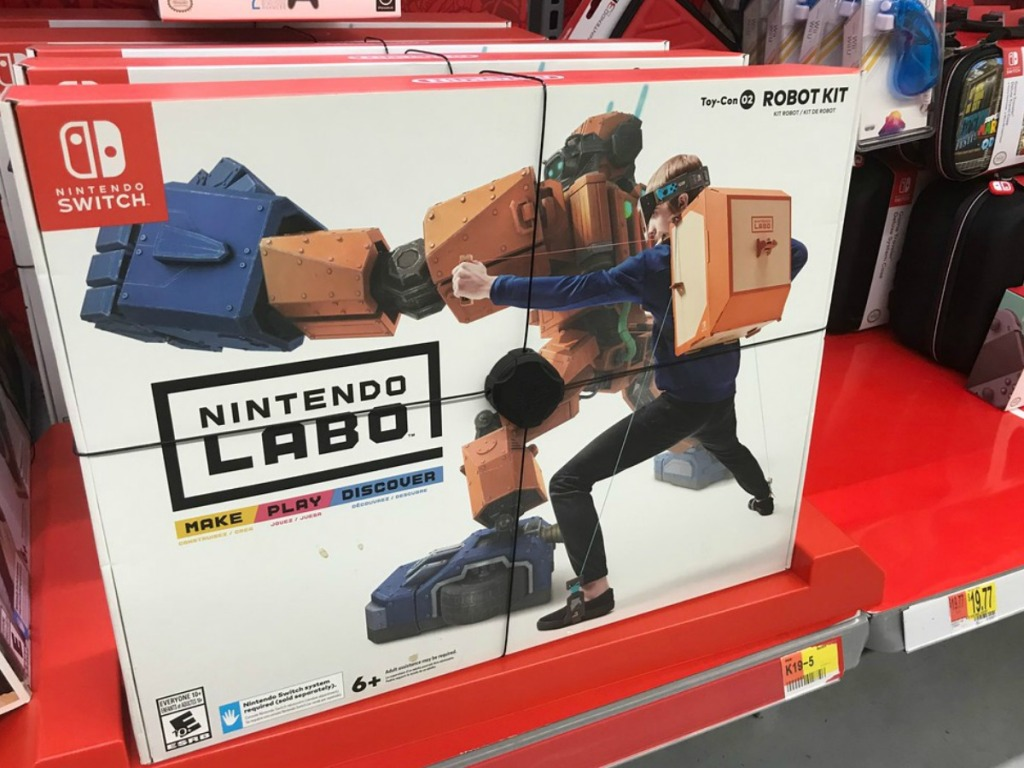 Nintendo Labo at the store