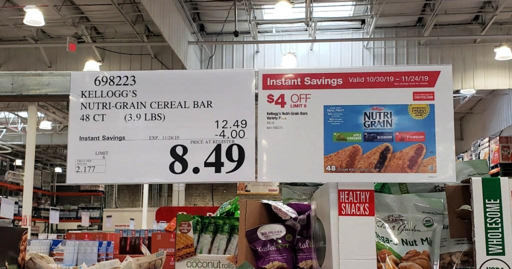 Nutri Grain Bars