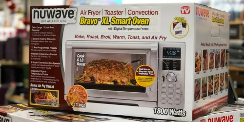 NuWave Bravo XL Air Fryer Convection Oven as Low as $95.19 Shipped + Get $10 Kohl's Cash