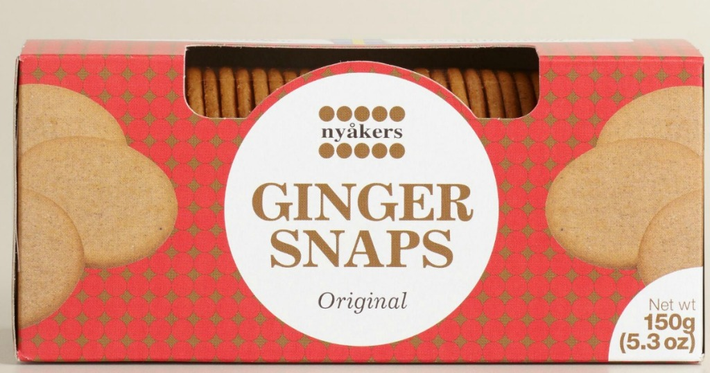 Nyakers Gingersnaps
