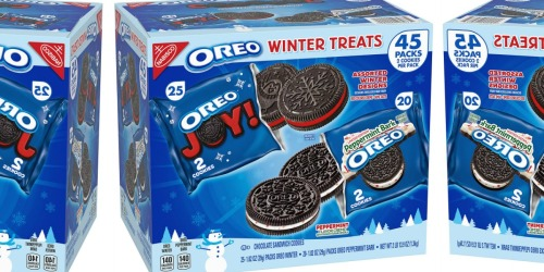 Sam's Club Is Selling Huge Box of Winter and Peppermint Bark OREO Cookies
