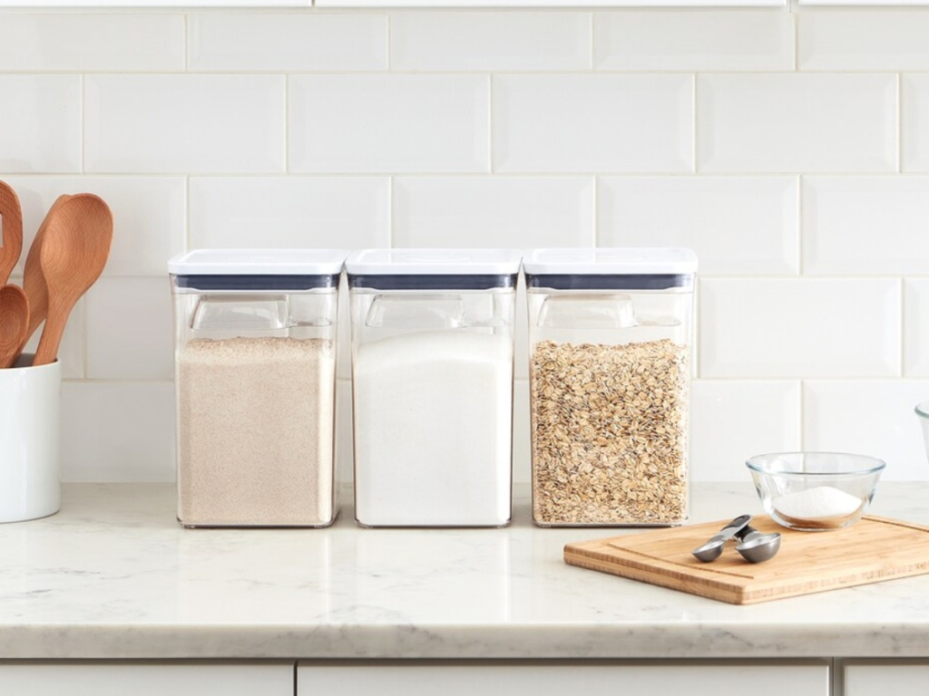 OXO Good Grips POP containers on counter