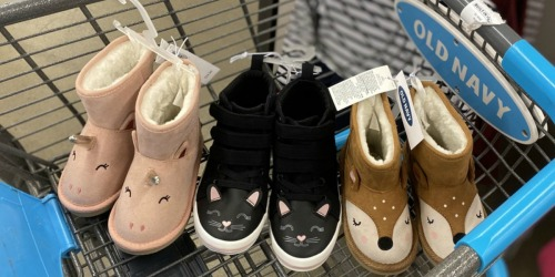 50% Off Old Navy Shoes for the Whole Family + Free Shipping on $25+